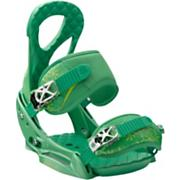Women's 2013 Stiletto EST Snowboard Bindings Spring Green