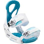 Women's 2013 Stiletto EST Snowboard Bindings White Blue