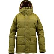 Women's 2013 Foxx Down Snowboard Jacket Olive Green