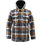 Men's 2013 Hackett Snowboard Jacket Quarry Riverside Plaid Gray