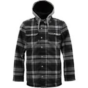 Men's 2013 Hackett Snowboard Jacket True Black Riverside Plaid