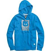 Men's 2013 Logo Fill Fullzip Hoodie Heather Bombay Blue