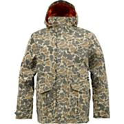 Men's 2013 Sentry Snowboard Jacket Burlap Duck Camo Brown