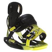 Men's 2013 M9 Snowboard Bindings Black Lime