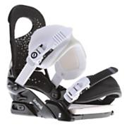 Women's 2013 Journal Snowboard Bindings Dark Purpose Black White