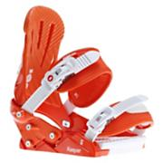 Women's 2013 Keeper Snowboard Bindings Orange Smog