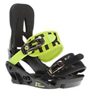 Kid's 2013 Mini Recon Snowboard Bindings Blimey Green Black