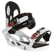 Men's 2013 Indy Snowboard Bindings White