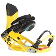 Men's 2013 National Snowboard Bindings Yellow
