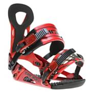 Men's 2013 LX Snowboard Bindings Red