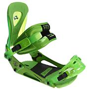 Men's 2013 Revolt Snowboard Bindings Lime Green