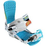 Men's 2013 Rodeo Snowboard Bindings More Fun White