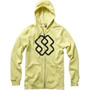 Men's 2013 Faded Full Zip Hoodie Mellow Yellow