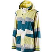 Women's 2013 Joy Snowboard Jacket Mellow Yellow Birthday Cake