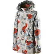 Women's 2013 Spark Snowboard Jacket Chase The Dragon White Red