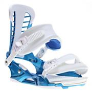 Men's 2013 Atlas Snowboard Bindings Metallic Blue