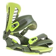 Men's 2013 Atlas Snowboard Bindings Matte Green