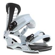 Men's 2013 Atlas Snowboard Bindings Matte Stone Gray