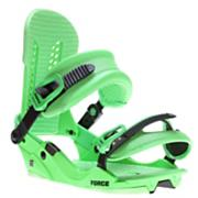 Men's 2013 Force Snowboard Bindings Green