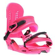 Men's 2013 Force Snowboard Bindings Magenta Pink