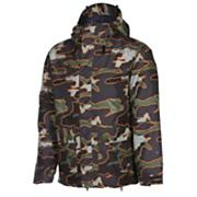 Men's 2013 Radar Insulated Snowboard Jacket Military Camo