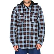 Men's 2013 Redding Flannel Hoodie Lock Out Plaid Black