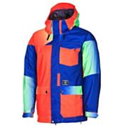 Men's 2013 Tarik Insulated Snowboard Jacket Fade Blue