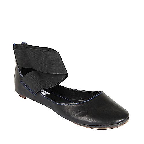 SKOOLGRL BLACK ballet flats womens large shoes on sale