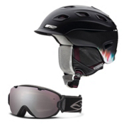Smith Vantage Womens Helmet & Smith I/O S Goggle Set, , medium