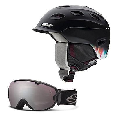 Smith Vantage Womens Helmet & Smith I/O S Goggle Set, , large