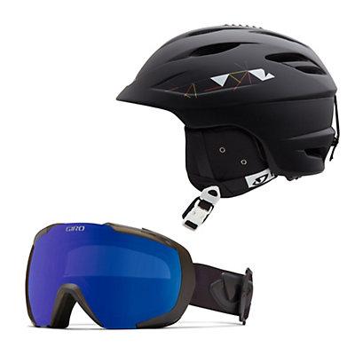 Giro Seam Helmet & Giro Onset Goggle Set, , large