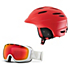 Giro Seam Helmet & Giro Basis Goggle Set