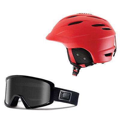 Giro Seam Helmet & Giro Blok Goggle Set, , large