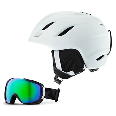 Giro Nine Helmet & Giro Onset Goggle Set, , large