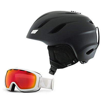 Giro Nine Helmet & Giro Basis Goggle Set, , large