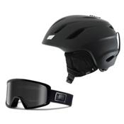Giro Nine Helmet & Giro Blok Goggle Set, , medium