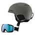 Giro Combyn Helmet & Giro Onset Goggle Set