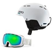 Giro Discord Helmet & Giro Basis Goggle Set, , medium