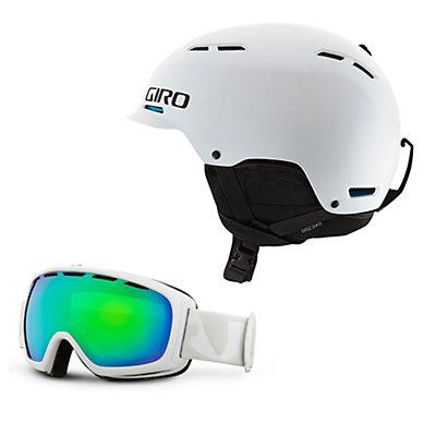Giro Discord Helmet & Giro Basis Goggle Set, , large