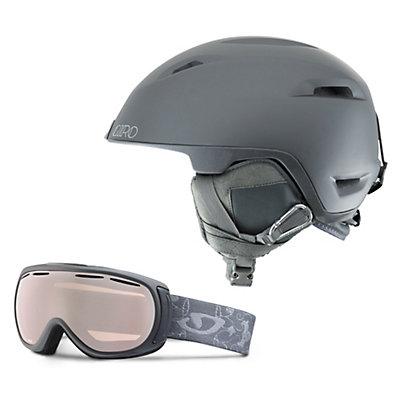 Giro Flare Helmet & Giro Amulet Goggle Set, , large