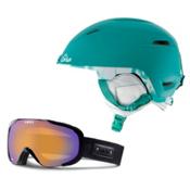 Giro Flare Helmet & Giro Field Goggle Set, , medium