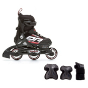 Rollerblade Spitfire XT Boys Inline Skates with Jr. Pad Set, , medium