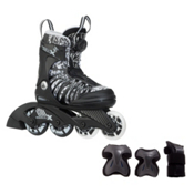 K2 SK8 Hero X Boa Boys Inline Skates with Flash Plus Jr Pads, , medium