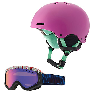 Anon Rime Helmet & Anon Tracker Goggle Set, , large