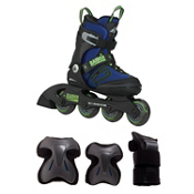 Raider Boys Inline Skate with Pads, , medium