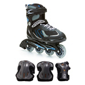 Pro 80 Mens Inline Skate with Pads, , medium