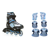 Pro 80 Womens Inline Skates with Pads, , medium