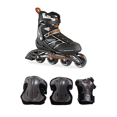 Zetrablade Mens Inline Skates with Pads, , large