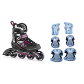Zetrablade Womens Inline Skates with Pads, , medium