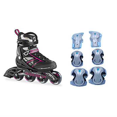 Zetrablade Womens Inline Skates with Pads, , large